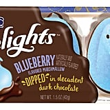 Peeps Delights Blueberry Flavored Marshmallow Dipped in Decadent Dark Chocolate (~$2)