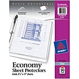 Avery Economy Clear Sheet Protectors