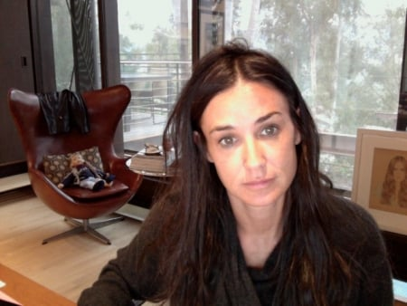 Demi Moore's Bad Hair Day