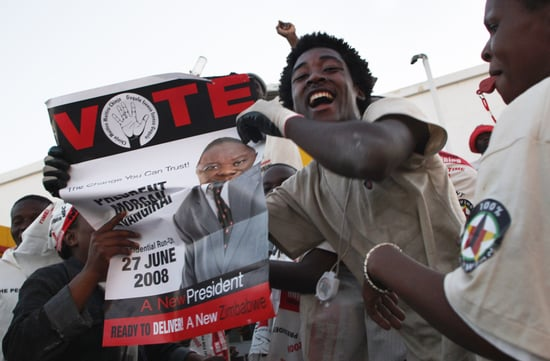 Opposition Leader Pulls Out of Zimbabwe Election