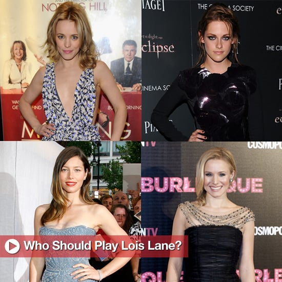 Kristen Stewart, Rachel McAdams, and Others Rumored to Play Lois Lane in Superman