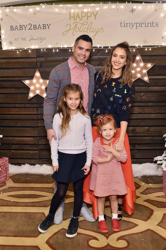 Celebrities at Baby2Baby Holiday Party 2015 Pictures