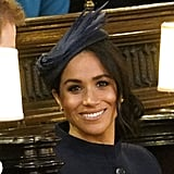 Meghan Markle Hat at Princess Eugenie's Wedding 2018