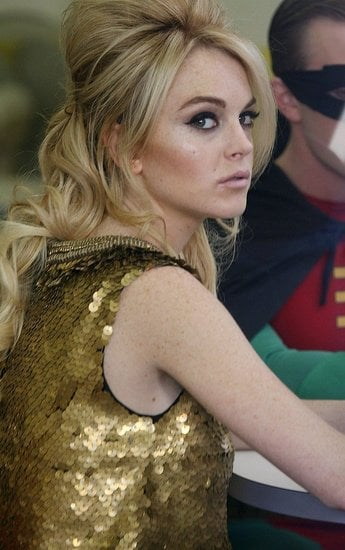 Love It or Hate It? Lindsay Lohan's Super-Glam Look