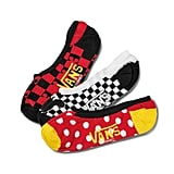Disney x Vans Mickey Mouse's 90th Canoodle Socks 3 Pack