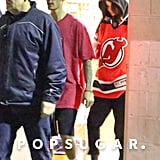 Selena Gomez and Justin Bieber at Hockey Game November 2017