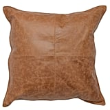 Chestnut Leather Pillow (Two Pack)
