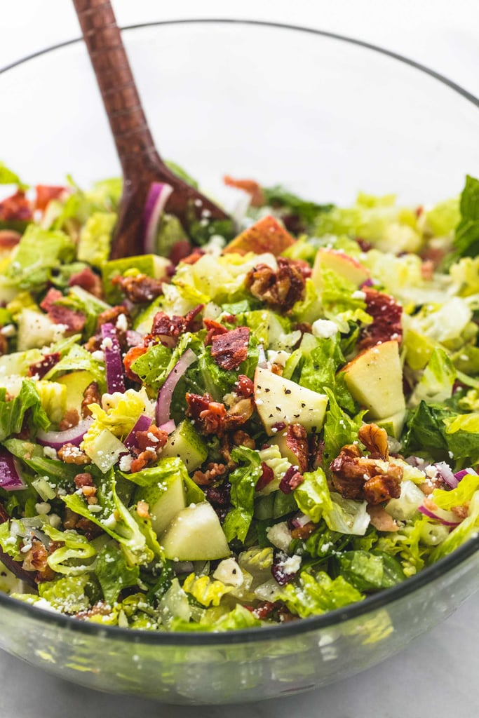 Chopped Autumn Salad With Apple Cider Dressing