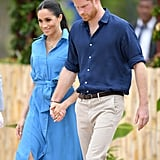 Meghan Markle Laughing at Mosquito Song in Tonga Video