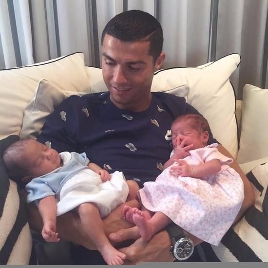 Cristiano Ronaldo Twins First Photo