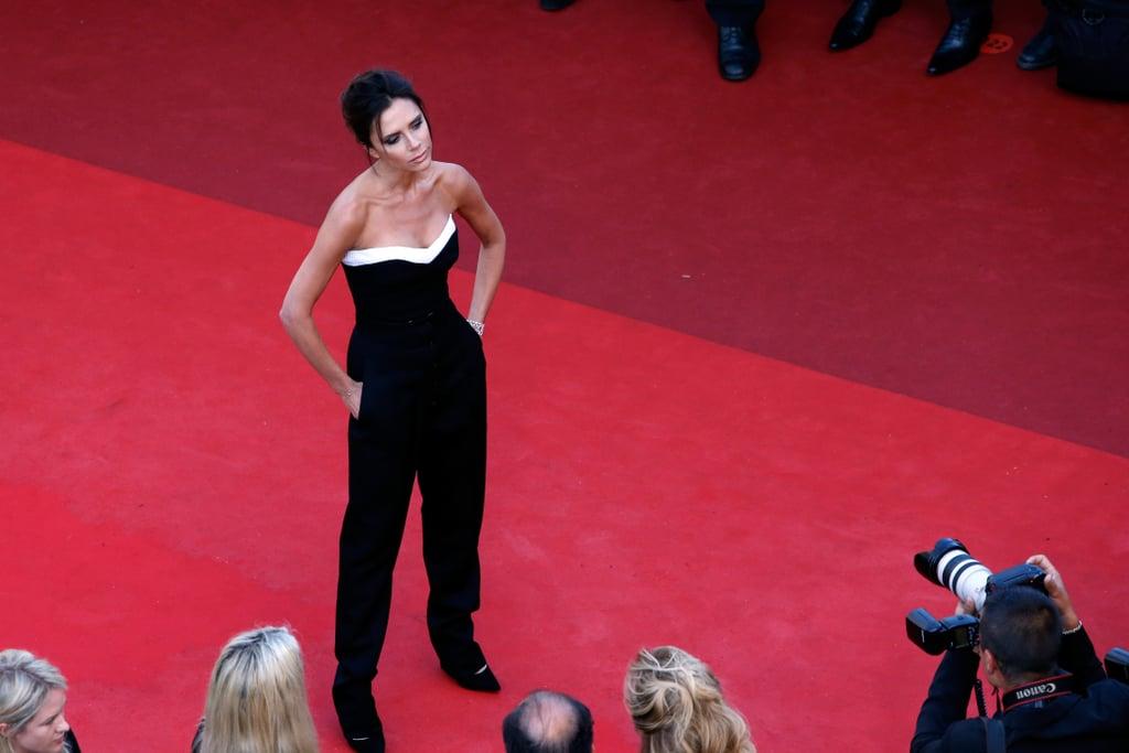 Victoria Beckham Achieved Model Status in Her Own Design