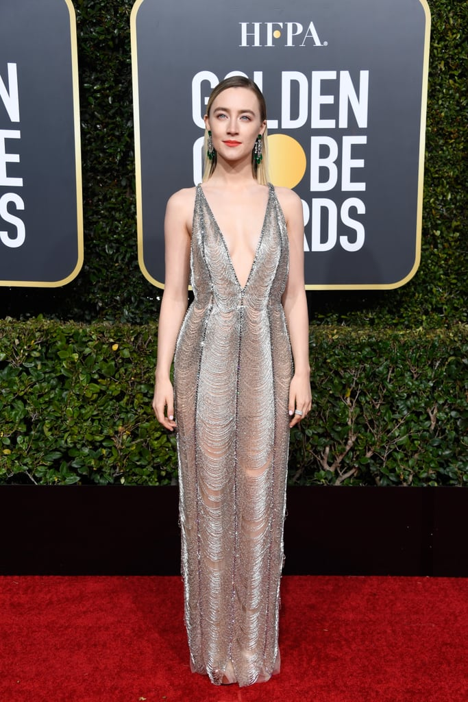 Saoirse Ronan at the 2019 Golden Globes