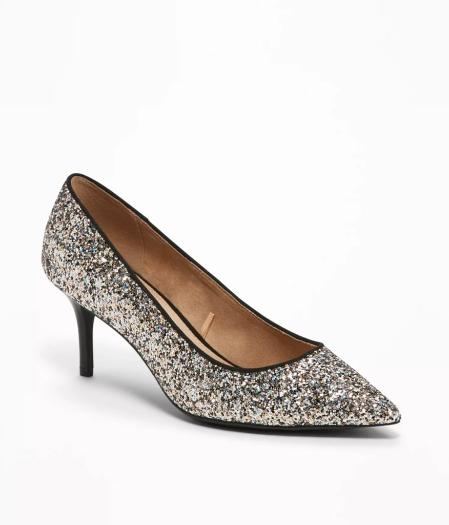 79bc60199123 Old Navy Classic Glitter Pumps