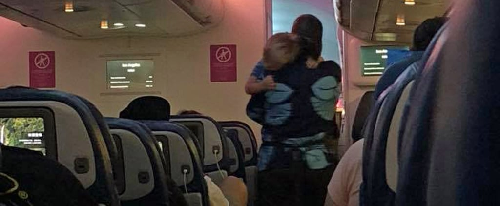 Flight Attendant Goes Out of Her Way to Soothe a Crying Toddler, Reminds Us Good People Exist