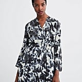 Zara Tie Dye Printed Dress