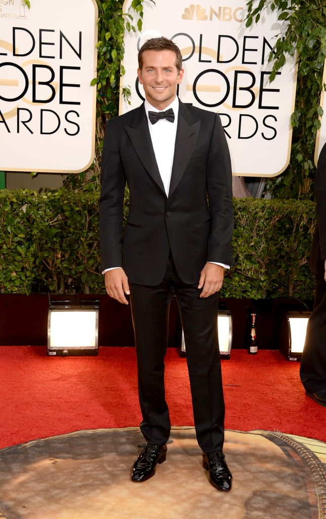 Bradley Cooper Brings Those Baby Blues to the Globes