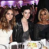 Cara Delevingne, St. Vincent, and Mary J. Blige
