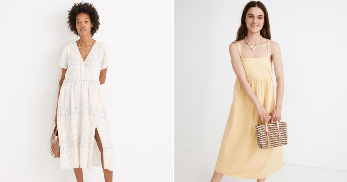 These 17 Madewell Midi Dresses Will Make You Look and Feel Good with a Capital G