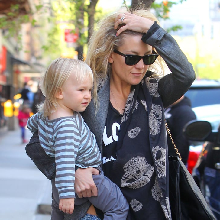 My Saves Bing: Kate Hudson And Bing Out In NYC