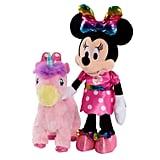 Minnie Walk & Dance Unicorn Feature Plush Packageing