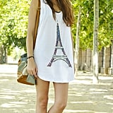 Such a cute ode to Paris.  Photo courtesy of Lookbook.nu