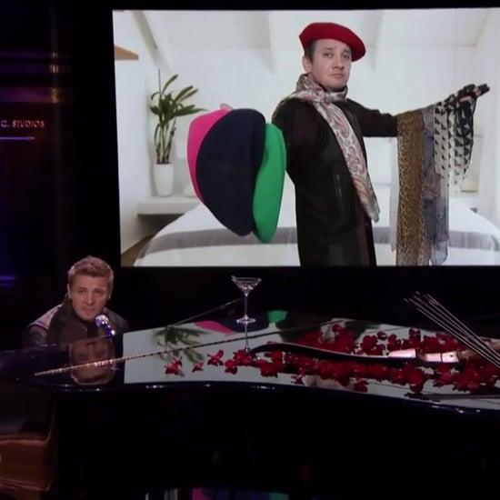 Jeremy Renner's Ed Sheeran Parody on Jimmy Fallon