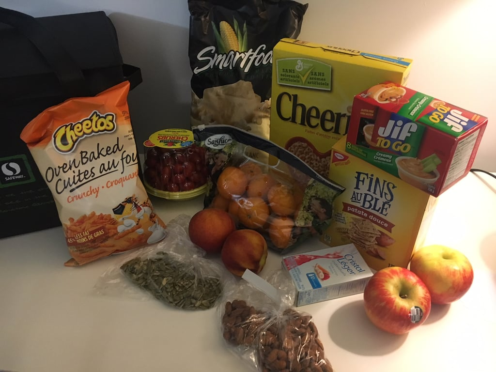 The Foods I Brought Along