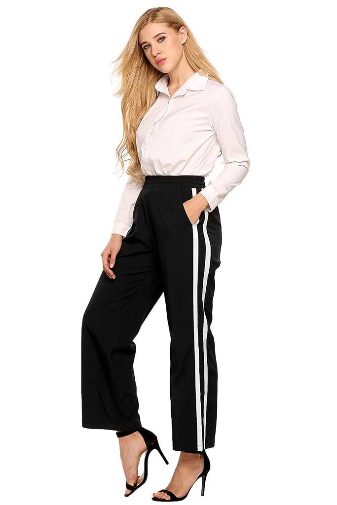 Zeagoo Side-Stripe Pants