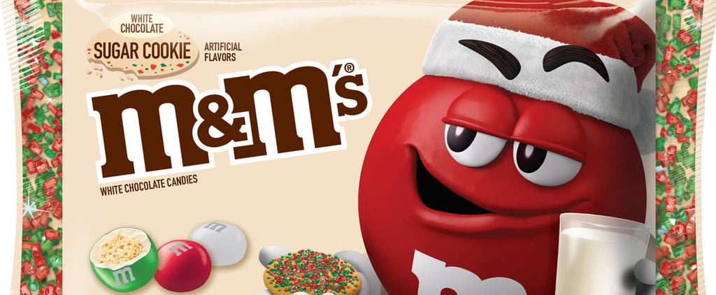 White Chocolate Sugar Cookie M&M's Are Releasing in November