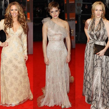 Pictures of Women on BAFTAs Red Carpet Including Emma Watson, Jessica Alba, Amy Adams, Helena Bonham Carter and More