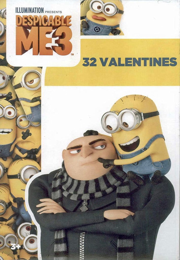 Despicable Me 3 Valentines Cards