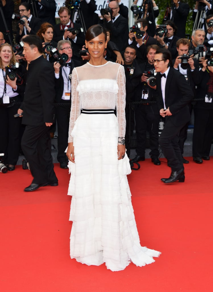 Liya Kebede at the Cannes premiere of Jeune & Jolie.