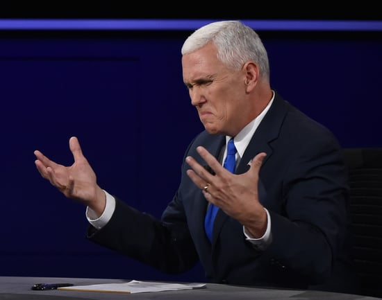 Mike Pence's Comments About Broad Shoulders