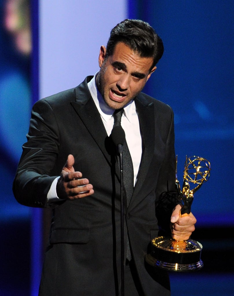 Boardwalk Empire's Bobby Cannavale won the award for best supporting actor in a drama series.