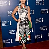 Olivia Wilde attended the HFPA's Installation Luncheon in LA.