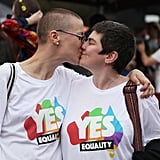 Pictures of Australians Celebrating Same Sex Marriage