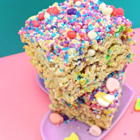Unicorn Marshmallow Crispy Treats