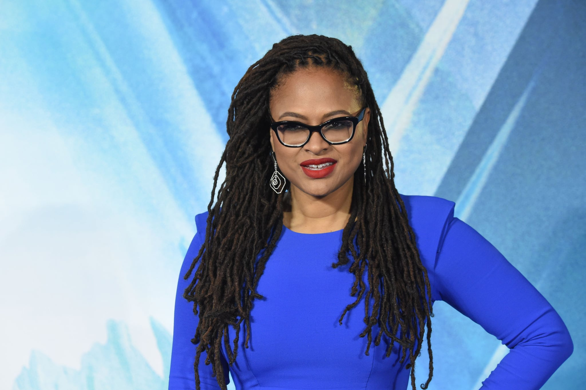 US director Ava Duvernay poses during the European premiere of A Wrinkle in Time in London on March 13, 2018. / AFP PHOTO / Anthony HARVEY        (Photo credit should read ANTHONY HARVEY/AFP/Getty Images)