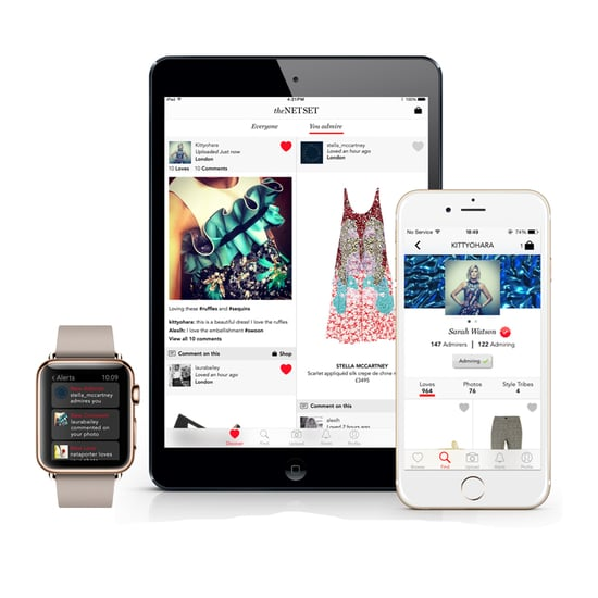Net-a-Porter Net Set App Launch 2015