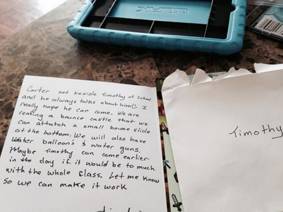 Birthday Invitation For Kid With Autism Brings Mom to Tears ...