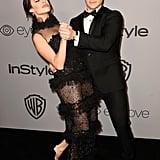 Adam DeVine and Chloe Bridges Cute Pictures