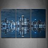 Firstwallart Blue Cool Chicago Wall Art