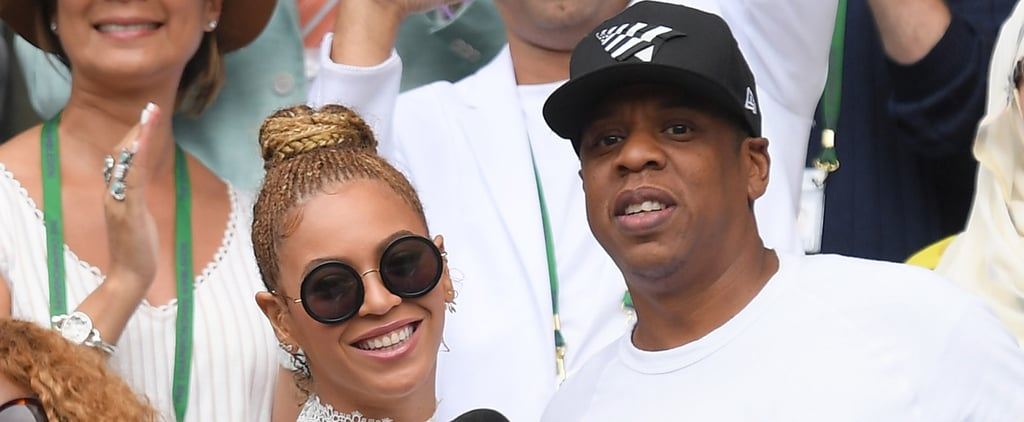 Beyoncé and Jay Z Have the Most Fun Cheering On Pal Serena Williams at Wimbledon