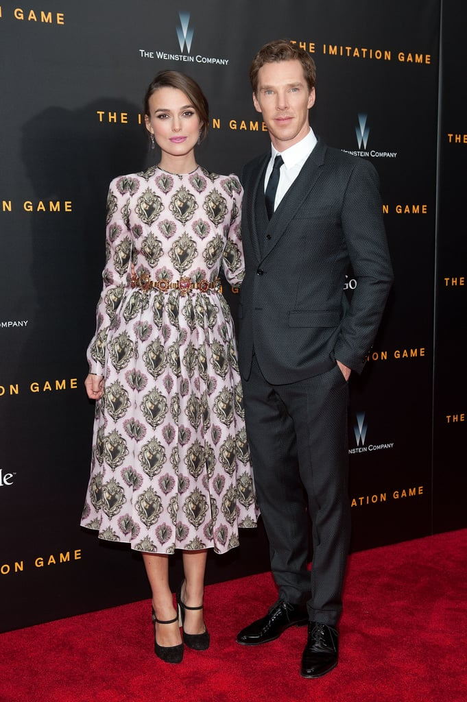 Keira and Benedict took photos together.
