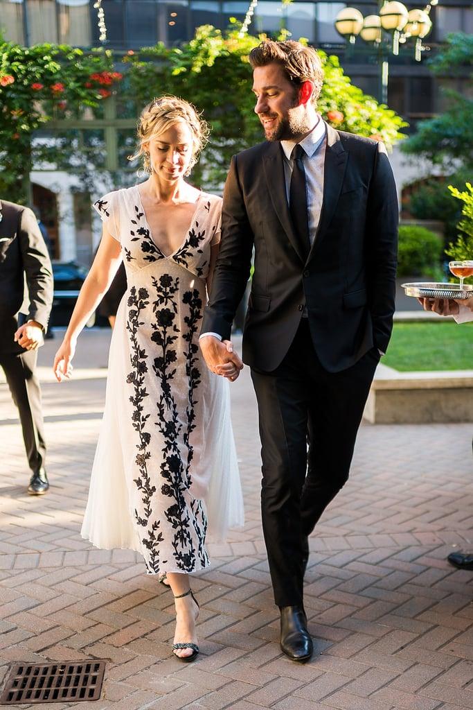 John Krasinski and Emily Blunt at Benefit Gala July 2018