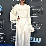 Indya Moore at the 2019 Critics' Choice Awards