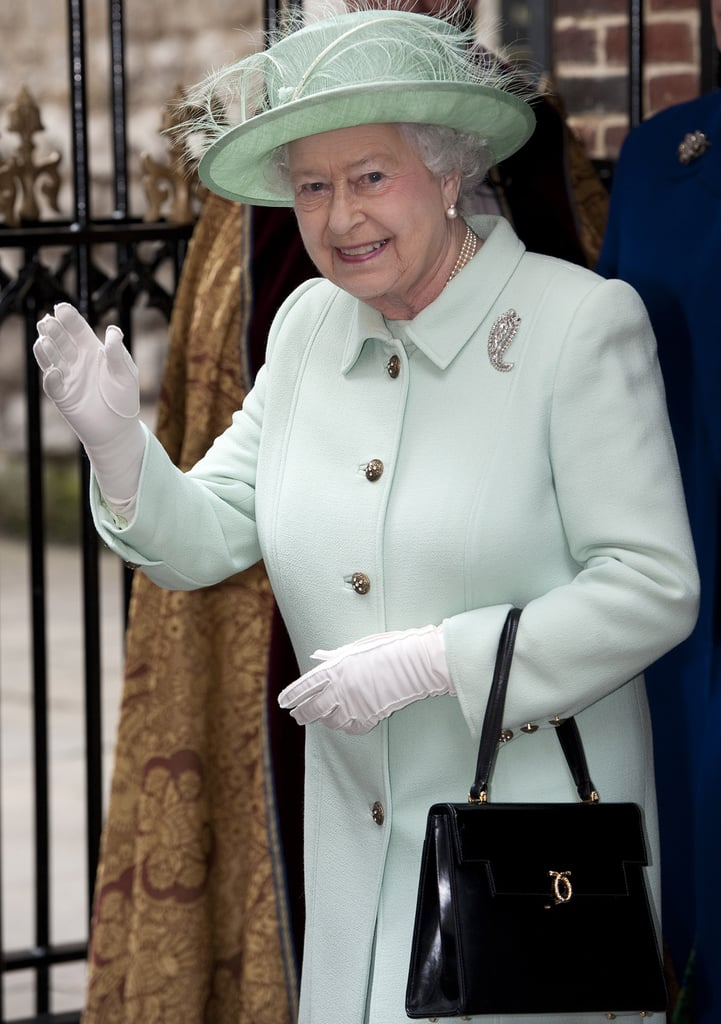 Queen Elizabeth II matched her mint green hat to her ladylike coat for the Diamond Jubilee celebrations in 2012.