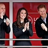 He Third-Wheeled With Kate and Will at the Money London Marathon