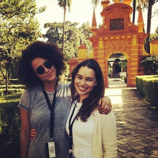 Nathalie Emmanuel Birthday Instagram For Emilia Clarke