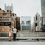 Rooftop Engagement Shoot